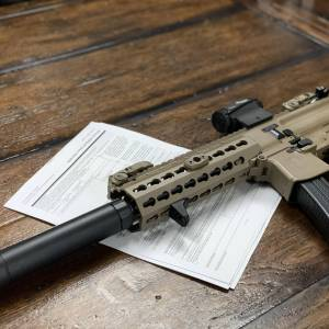 ATF Form 1 with SBR